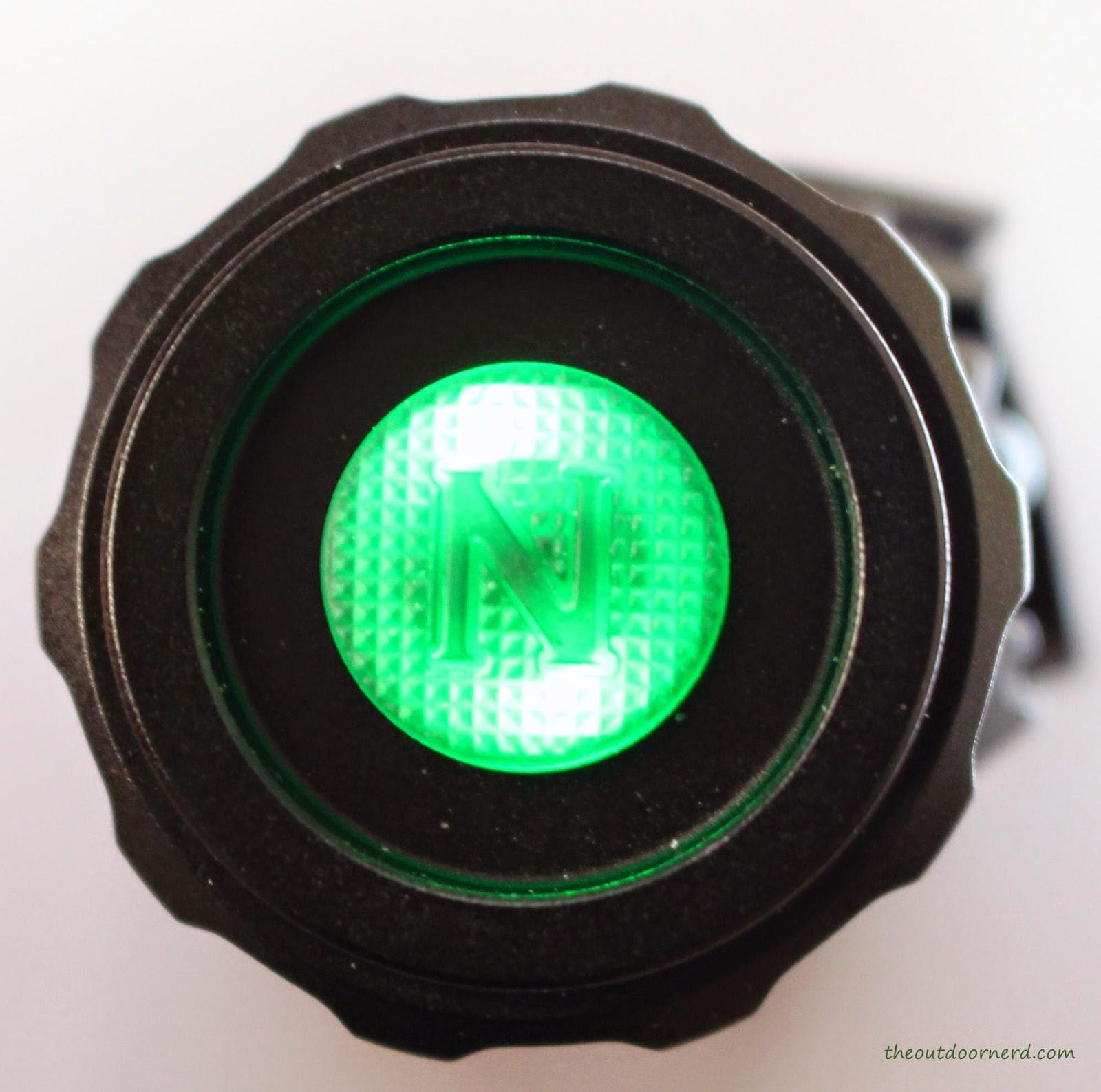 Nitecore HC50 Headlamp Button Lit