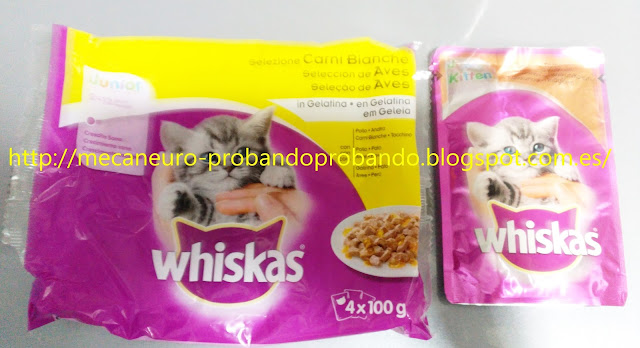 Whiskas bolsitas multipack junior