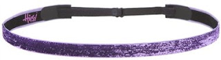 Cheerleading Headband Glittering Purple Color Hipsy Headband
