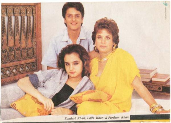 Fardeen Khan Childhood Pictures