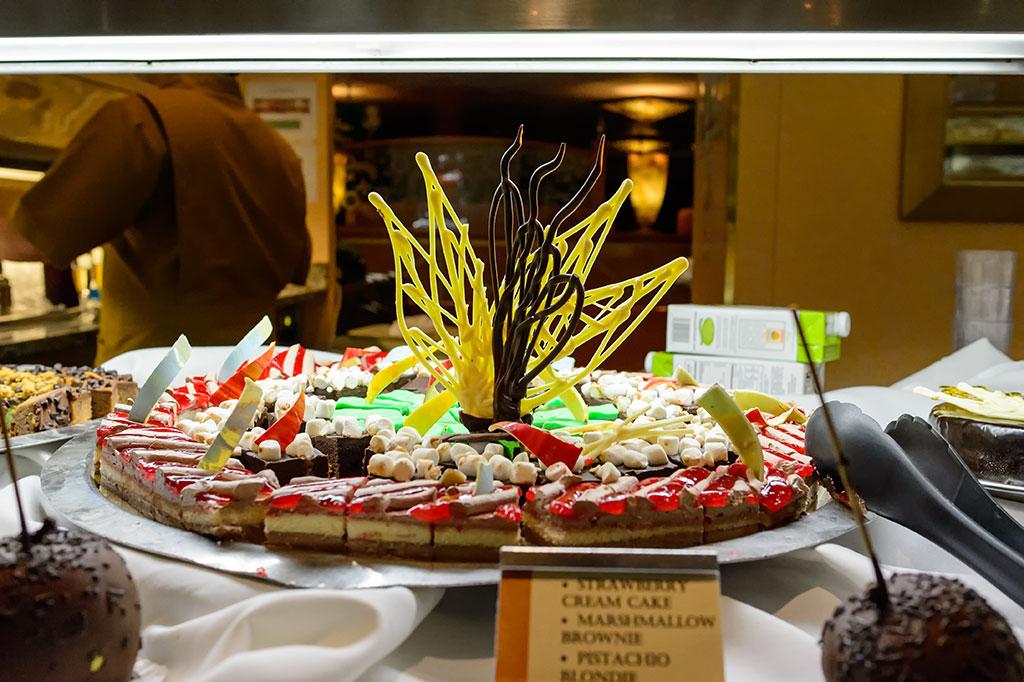 Brownies and Blondies on the Norwegian Pearl