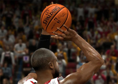 NBA 2K13 HD Texture Spalding Ball Patch