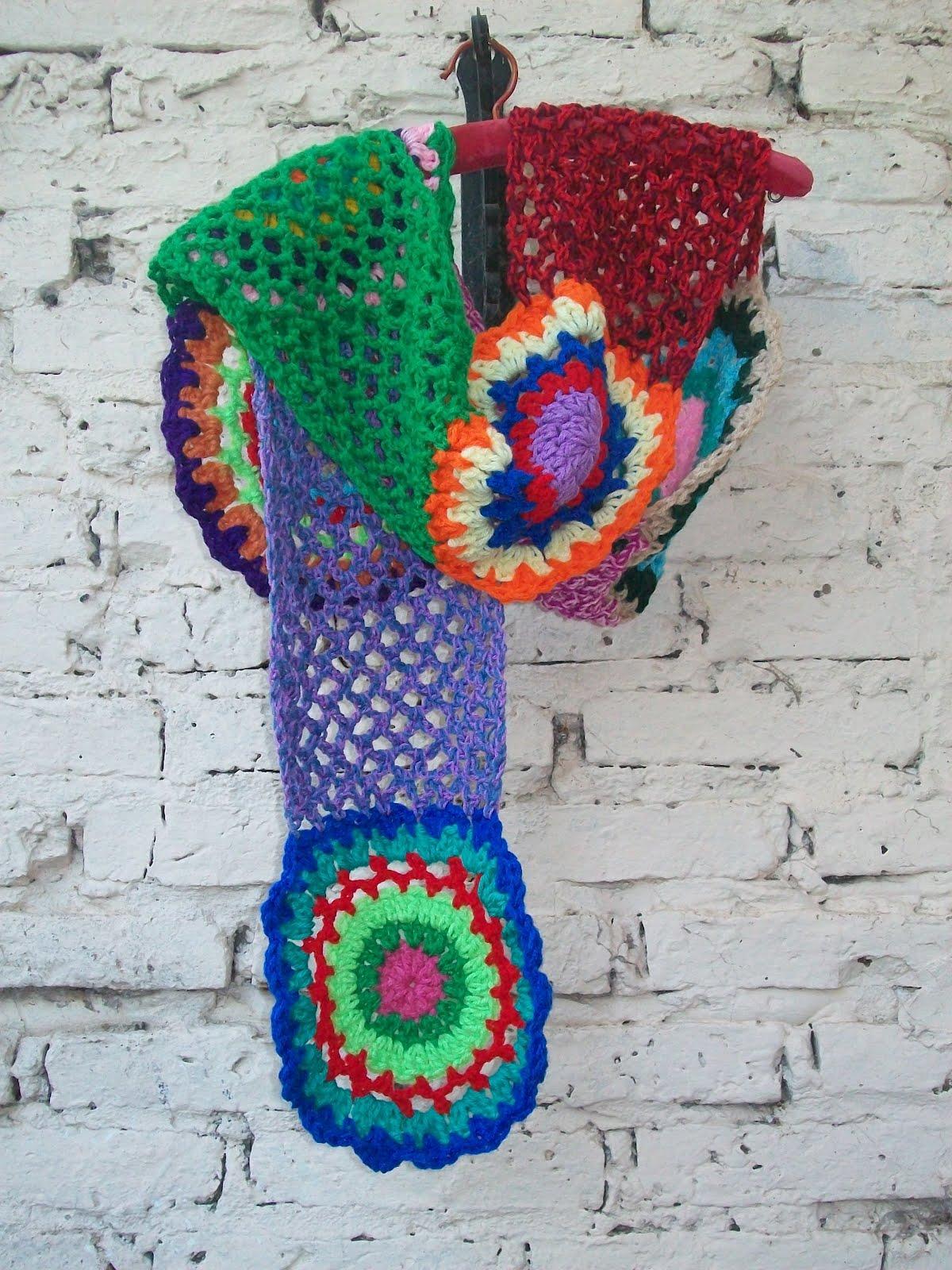 color mucho color en esta original bufanda estilo vintage te ...