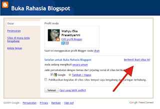 Tutorial Cara Berhenti Mengikuti Blog Teman