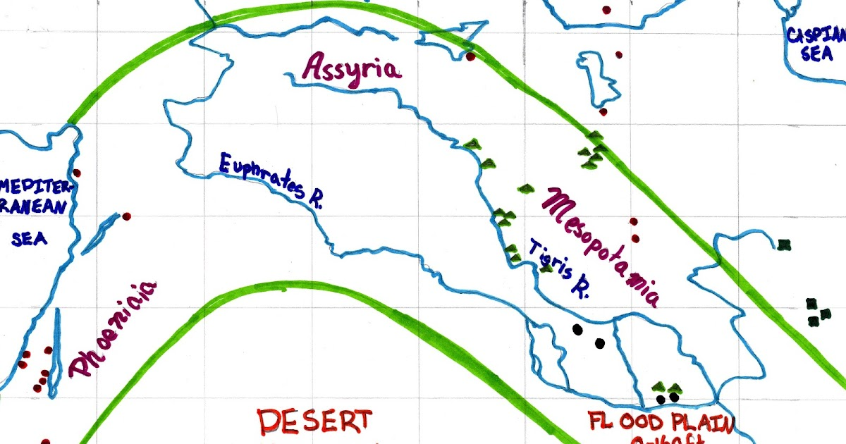 fertile crescent map today - photo #26