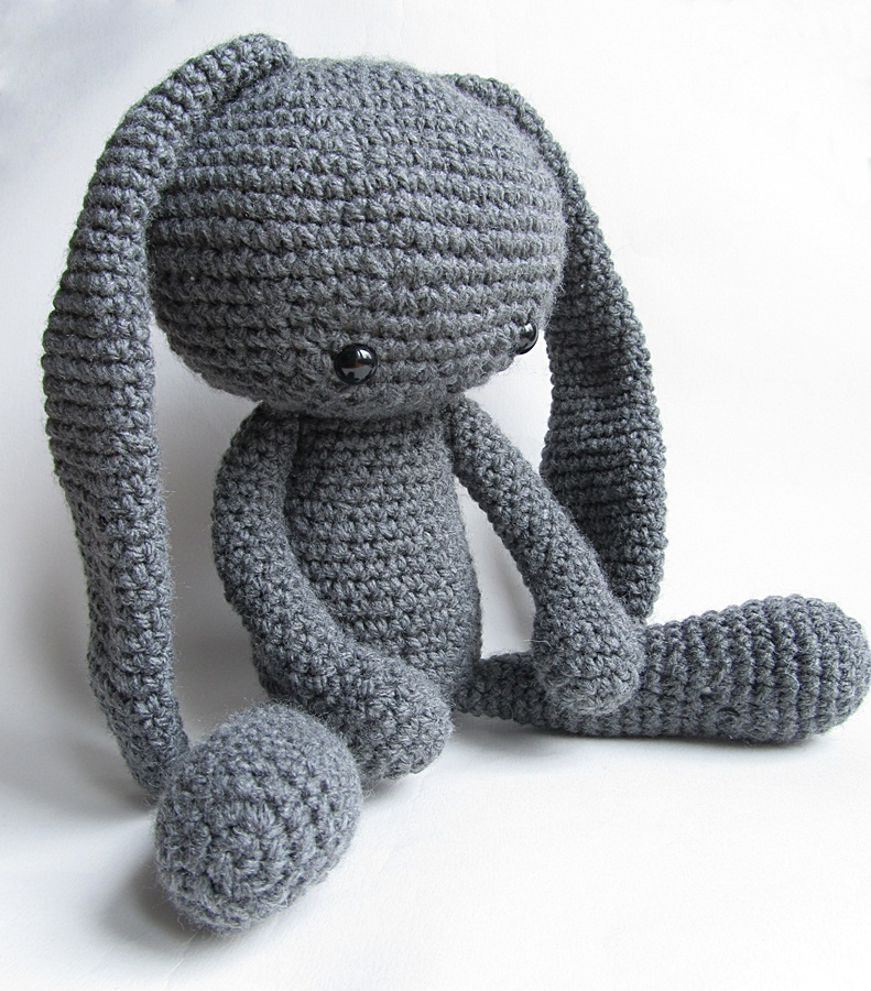 Crochet Patterns Rabbit : Amigurumi Alien Bunny} - Little Things Blogged