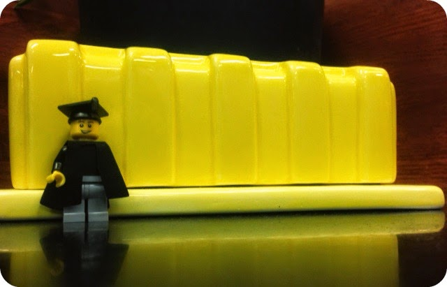 Butterdome Butter Dish with Lego Grad