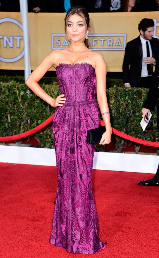 Sarah Hyland SAG Awards manicura