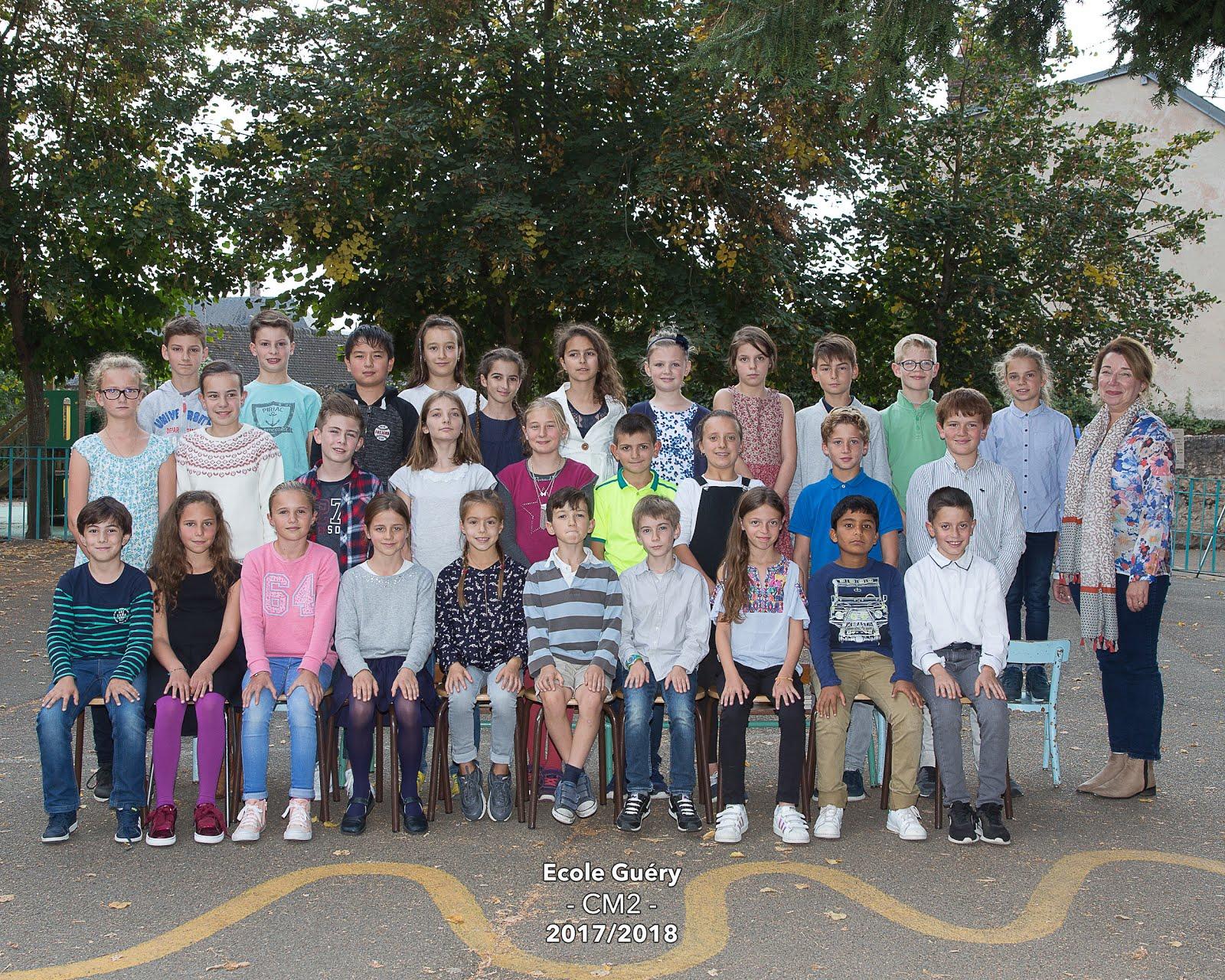 """Classe des CM2 """"Antoine de Saint-Exupéry 2017-2018 avec l'aimable autorisation d 'Hervé TARRIEU"""