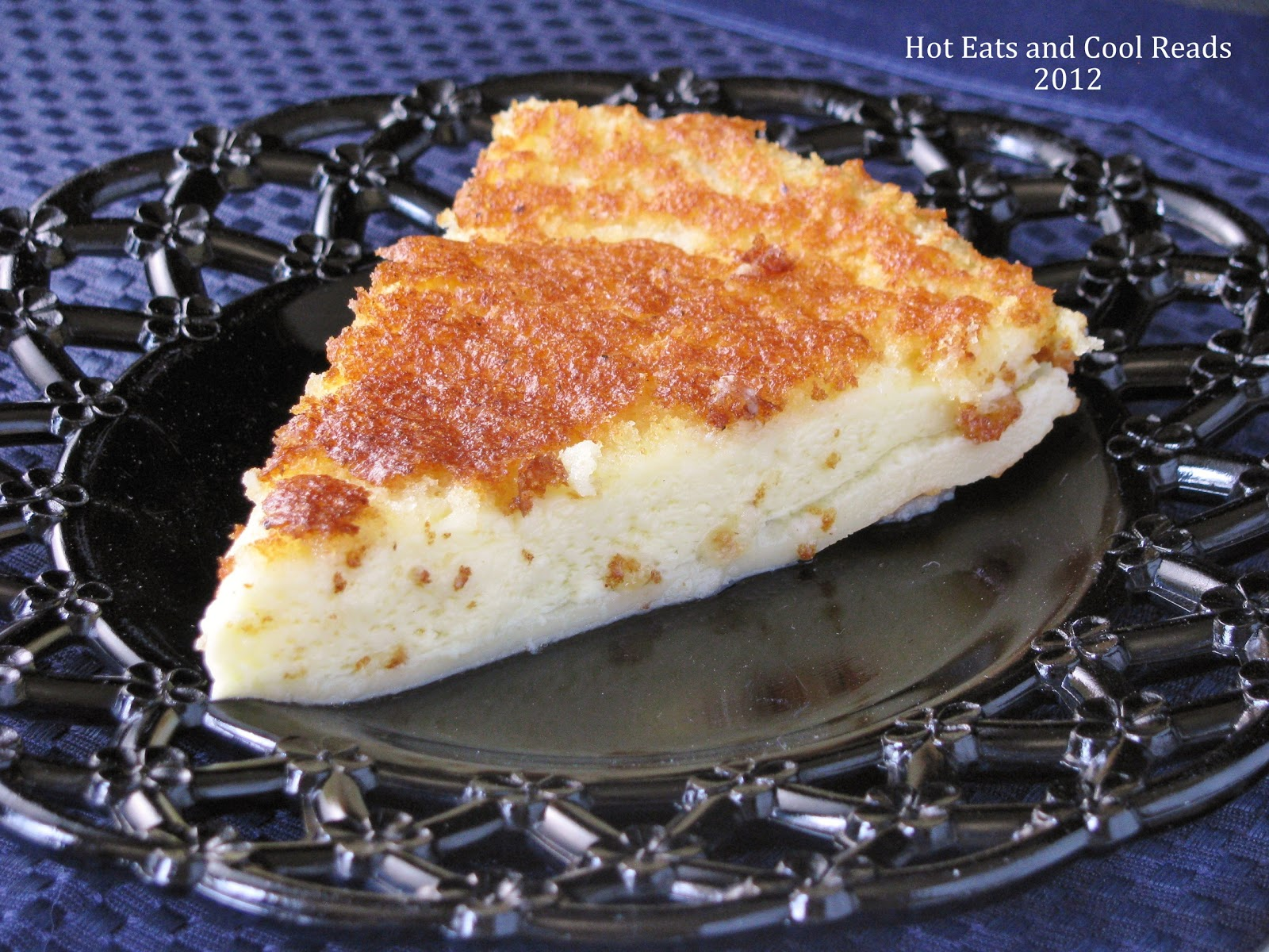 ... minute dessert! Magic Crust Custard Pie from Hot Eats and Cool Reads