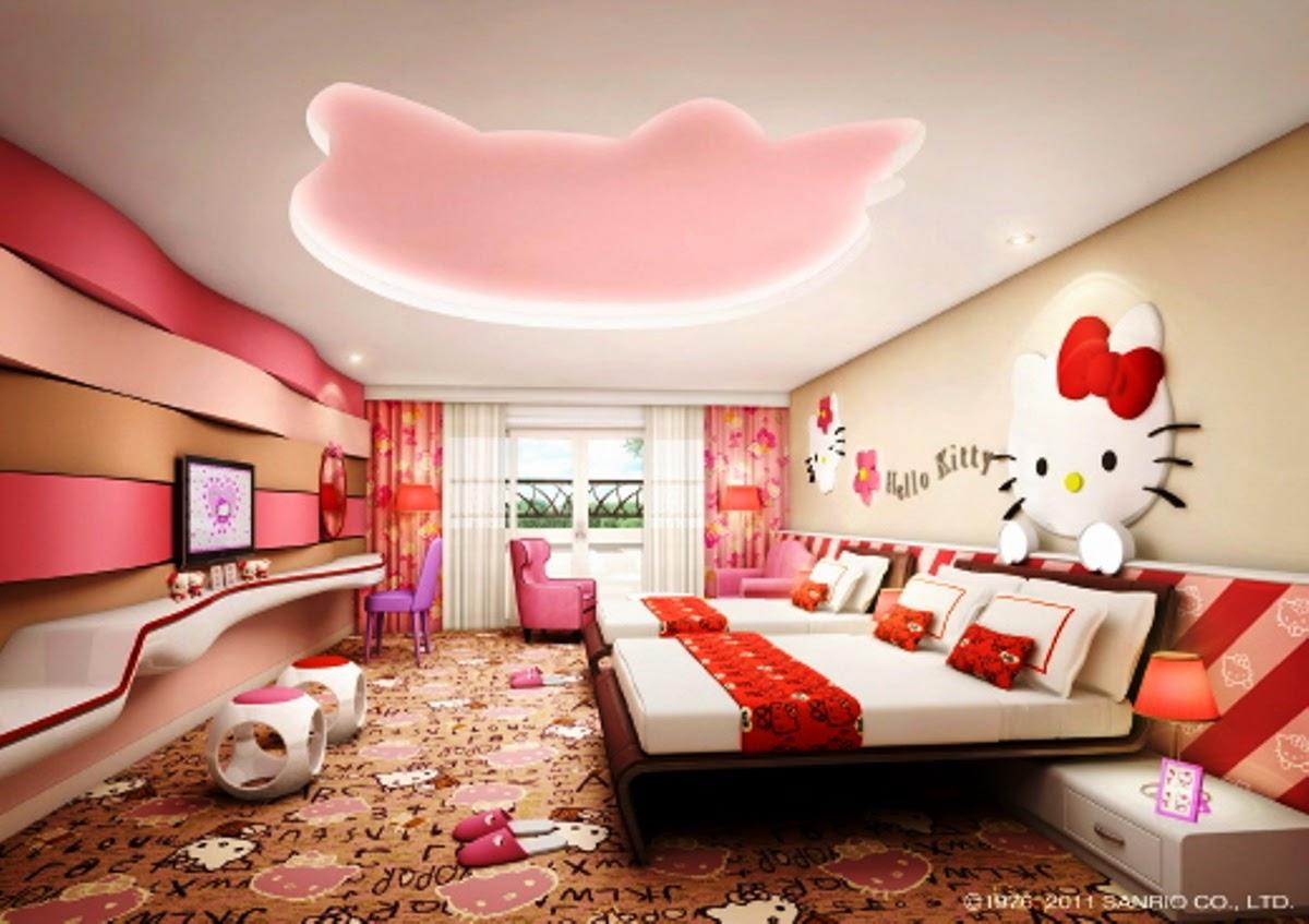 gambar desain kamar hello kitty gambar rumah idaman