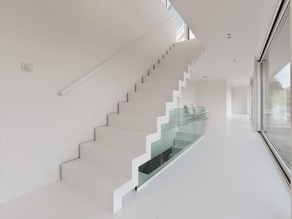 De ultieme design trap corian trap op maat anywaydoors