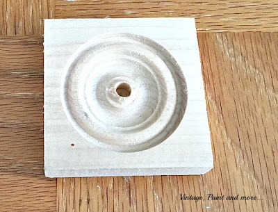 "2 1/2"" wood medallion used for washi tape organizer"