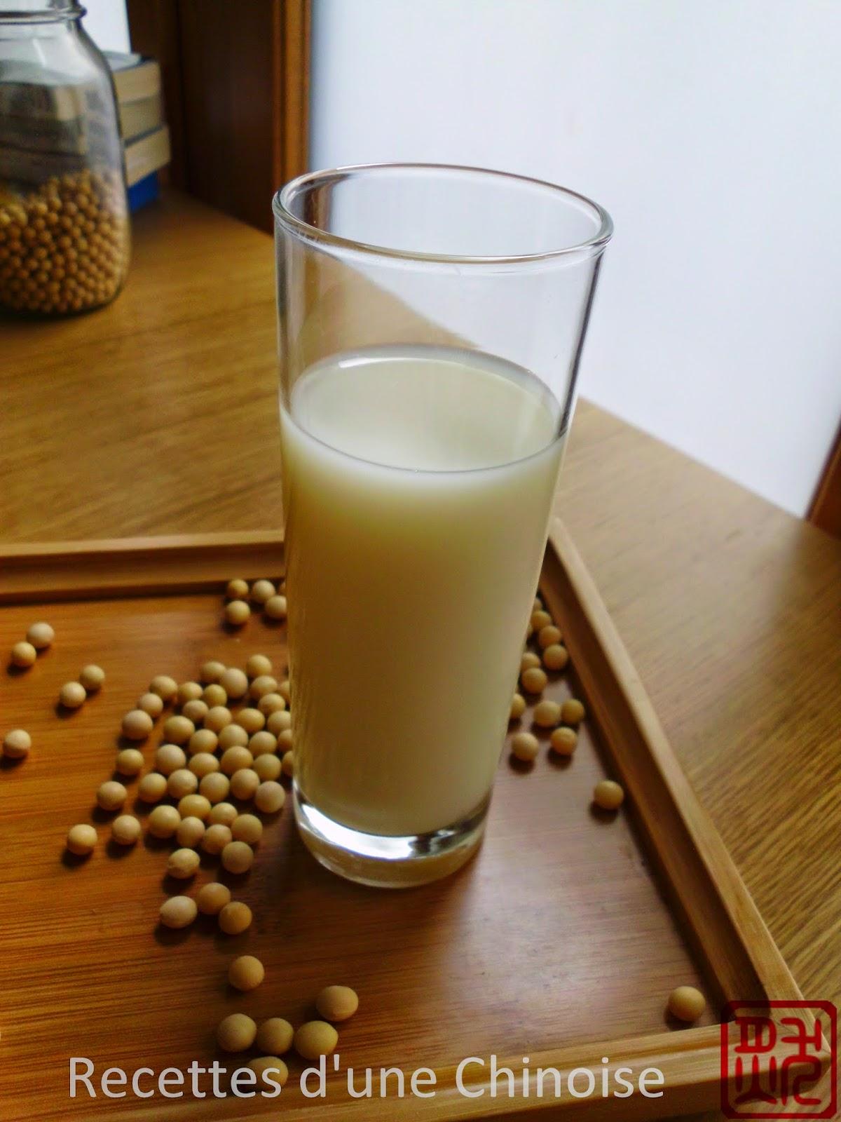recettes d 39 une chinoise lait de soja jus de soja maison d uji ng. Black Bedroom Furniture Sets. Home Design Ideas