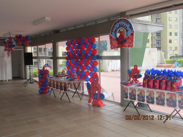 Decoracion Fiesta Grado Hombre ~ Decoracion Hombre Araa Spiderman Fiestas Infantiles Medellin Fiesta