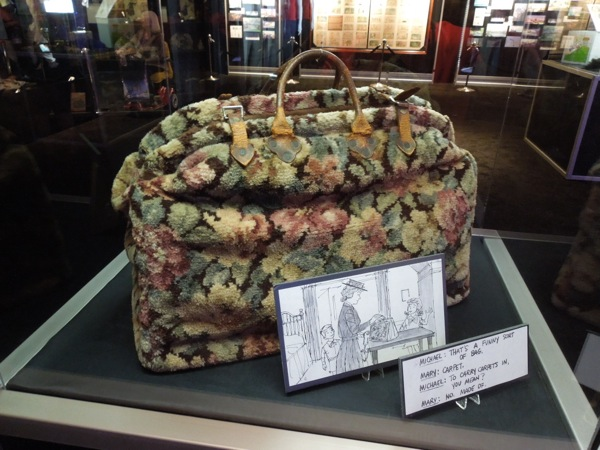 Original Mary Poppins carpet bag prop