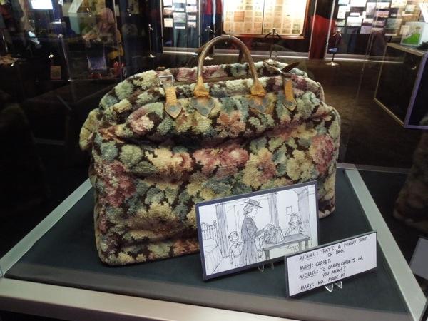 Original Mary Poppins carpet bag prop