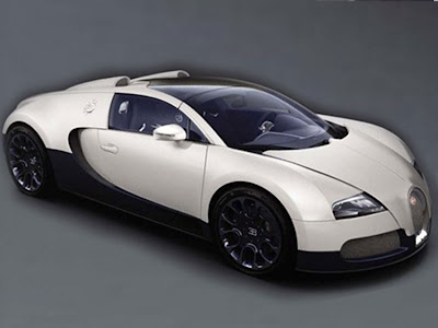 white bugatti veyron super sport black details interior