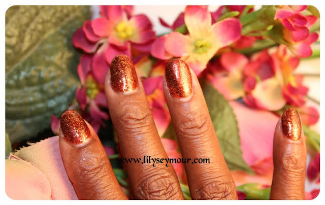 OPI Take The Stage with Nina Glitter