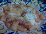 Homemade Gnocchi with Fresh Tomatoes.