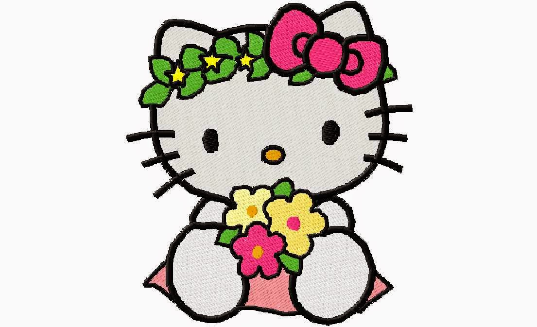 gambar kartun animasi hello kitty