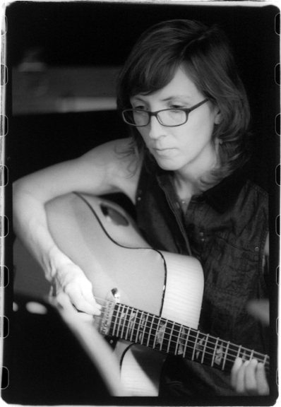 mary halvorson (ingrid laubrock's anti-house 4)