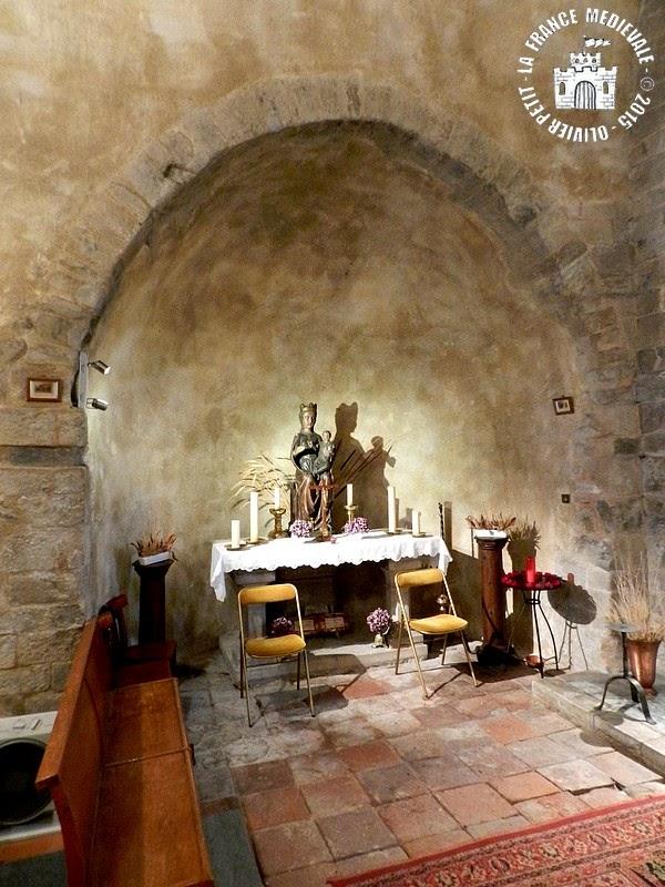 BROUILLA (66) - Eglise Sainte-Marie (Intérieur)