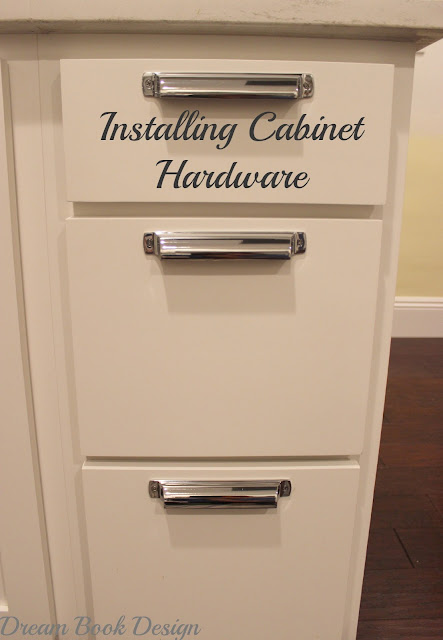 How to install kitchen cabinet hardware tutorial dream for Installing kitchen cabinets