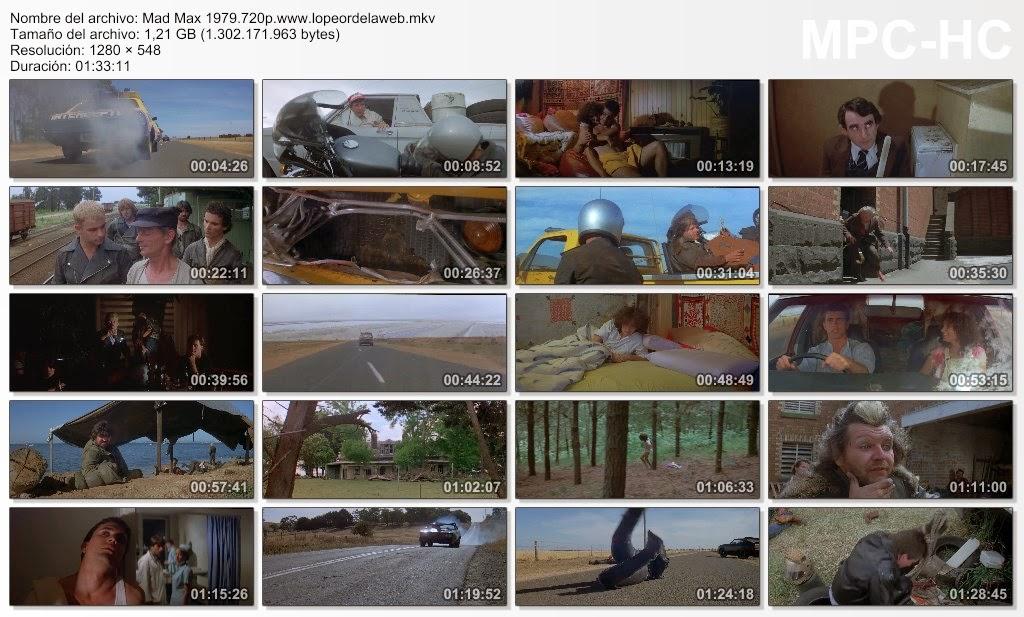 Mad Max, salvajes de autopista (1979) BRrip 720p Dual