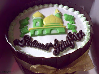 Cake hantaran lebaran untuk parcel di kota PAdang