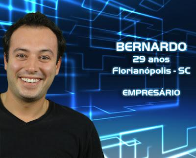 Lista de participantes do BBB 13 - Bernardo - Florianópolis SC - Flagras - Fotos