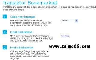 Traduttore multilingue online gratis, Microsoft, pulsante browser