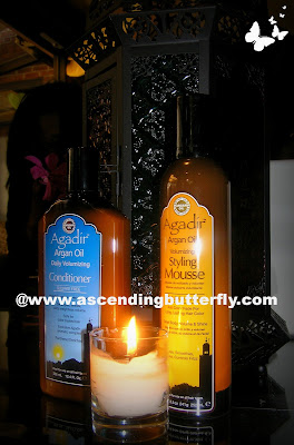 Daily Volumizing Conditioner, Styling Mousse, Argan Oil, Agadir, Hair, Haircare