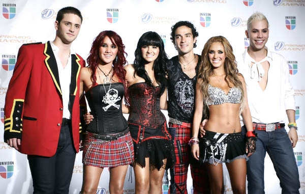 letra de canciones de rbd y videos: