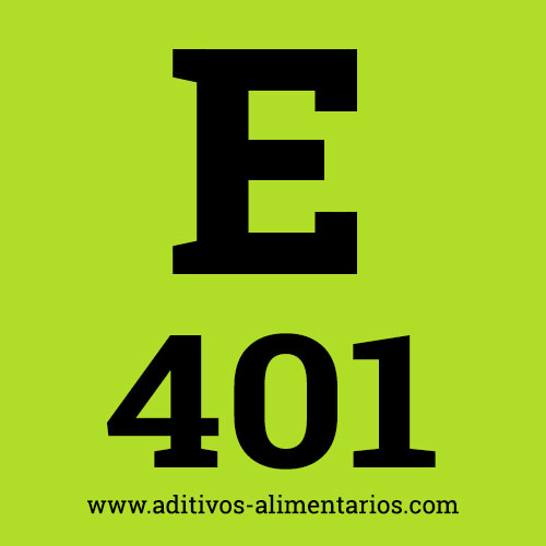 E401 - Alginato de Sodio