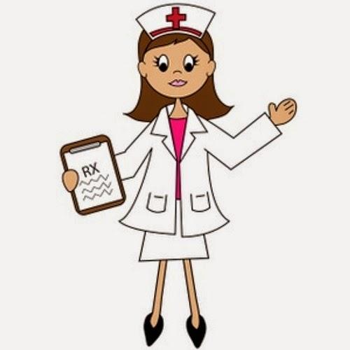gambar kartun perawat