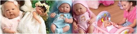 JC Toys baby dolls