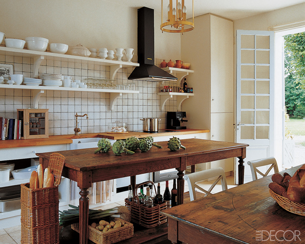 Jenny castle design pondering a kitchen for Elle decor kitchen ideas