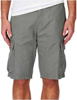 Buy Koutons Grey Cotton Shorts at Flat 73% Off & Extra 50% Cash Back at Rs-199:buytoearn