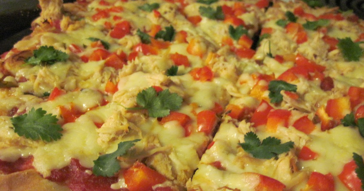 aubrey 39 s recipes spicy chicken and pepper jack pizza. Black Bedroom Furniture Sets. Home Design Ideas