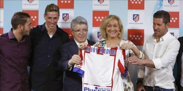 El Atlético promociona Madrid