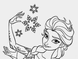 Disney Frozen Fever Coloring Pages