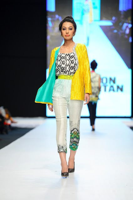 sania maskatiya, Fashion Pakistan Week 5