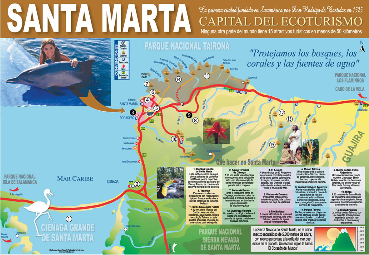 Santa Marta Colombia Pictures and videos and news CitiesTipscom