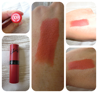 Labial 109 Kate Moss Rimmel London