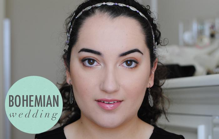 bohemian wedding makeup tips, bridal makeup tutorial, how to do makeup for bohemian wedding