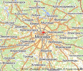 3 d модель москвы:
