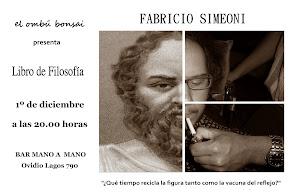 invitación de Fabricio Simeoni