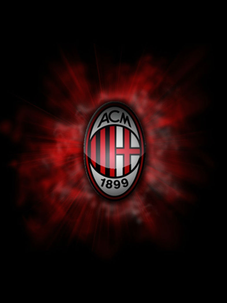 a c milan wallpaper free mobile wallpaper 3D for My iPhone iPod Models