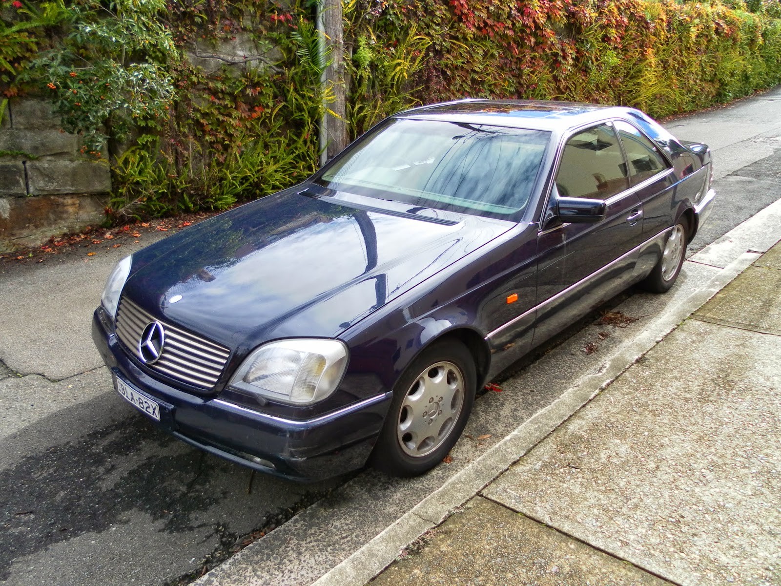 aussie old parked cars 1996 mercedes benz c140 s 500 coupe. Black Bedroom Furniture Sets. Home Design Ideas
